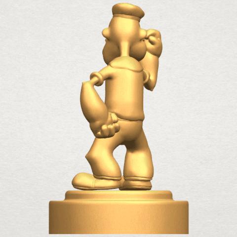 TDA0482 Popeye A04.png Download free STL file Popeye • 3D printer design, GeorgesNikkei