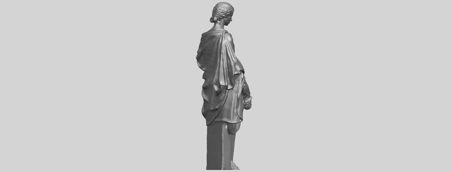 05_TDA0261_Sculpture_of_a_girlA08.png Download free STL file Sculpture of a girl • 3D printable model, GeorgesNikkei