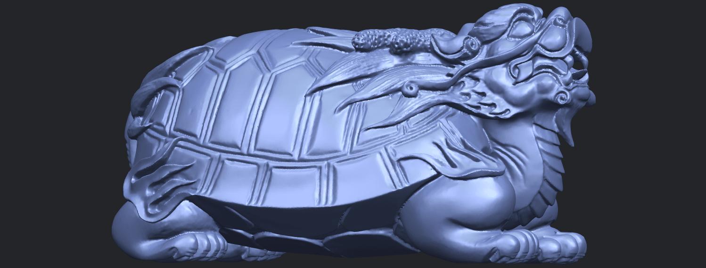 01_TDA0333_Dragon_TortoiseB07.png Télécharger fichier STL gratuit Tortue dragon • Objet imprimable en 3D, GeorgesNikkei