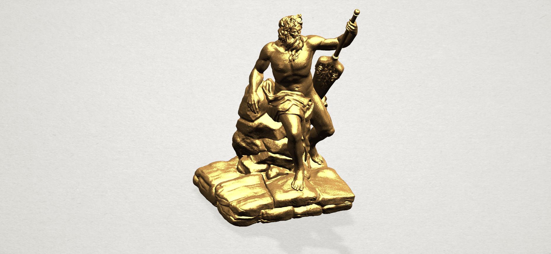 Naked Warrior A08.png Télécharger fichier STL gratuit Guerrier nu • Plan pour impression 3D, GeorgesNikkei