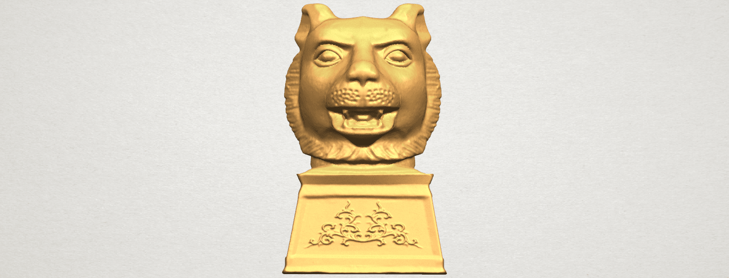 TDA0510 Chinese Horoscope of Tiger 02 A01.png Download free STL file Chinese Horoscope of Tiger 02 • 3D print object, GeorgesNikkei