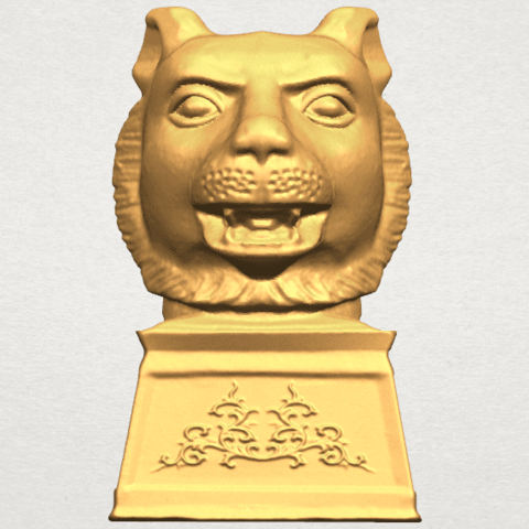objet 3d horoscope chinois de tigre 02 cults. Black Bedroom Furniture Sets. Home Design Ideas