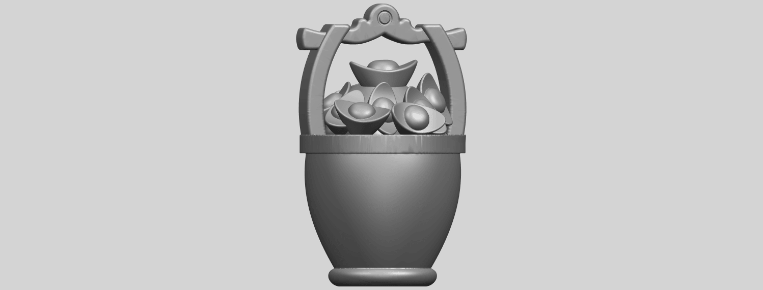 13_TDA0502_Gold_in_BucketA06.png Download free STL file Gold in Bucket • 3D print object, GeorgesNikkei