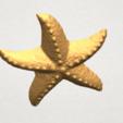 TDA0609 Starfish 03 A04.png Télécharger fichier STL gratuit Étoile de mer 03 • Plan pour imprimante 3D, GeorgesNikkei