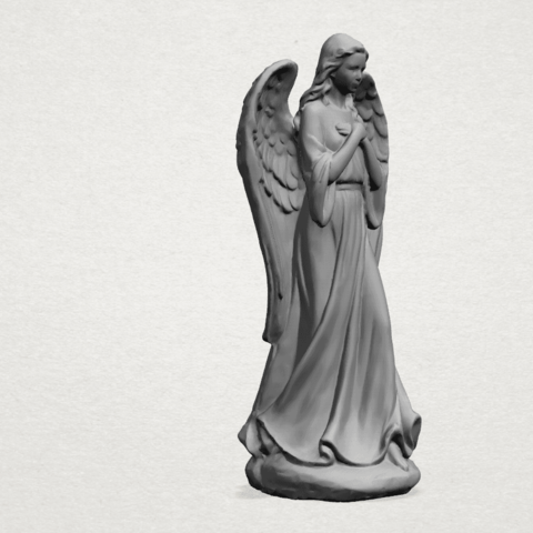 Angel C05.png Download free STL file Angel 01 • 3D printer object, GeorgesNikkei