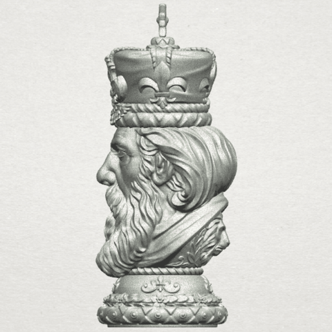 TDA0254 Chess-The King A04.png Download free STL file Chess-The King • 3D printer model, GeorgesNikkei