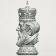 Download free STL Chess-The King, GeorgesNikkei