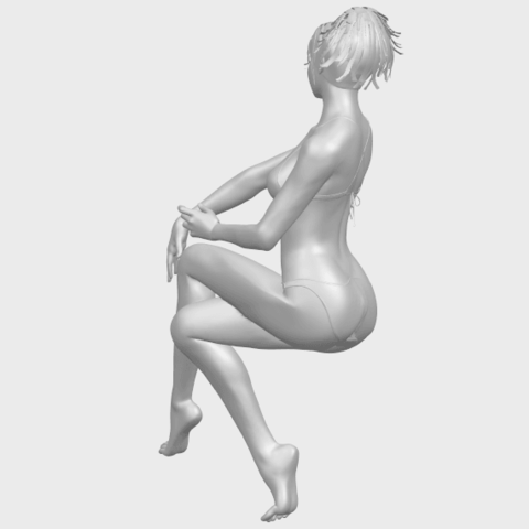 20_TDA0664_Naked_Girl_H02A08.png Download free STL file Naked Girl H02 • 3D print object, GeorgesNikkei