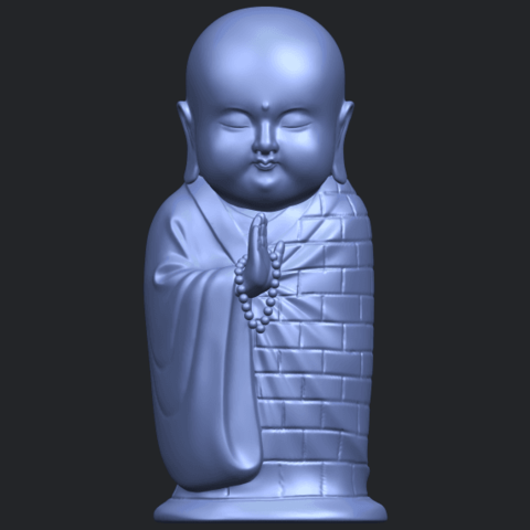 Little_Monk_80mmB01.png Download free STL file Little Monk 01 • 3D printable design, GeorgesNikkei
