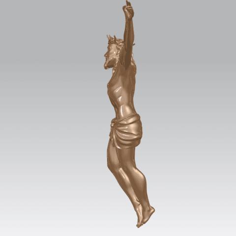 TDA0230 Jesus (ii) A03.png Download free STL file Jesus 02 • 3D printing template, GeorgesNikkei