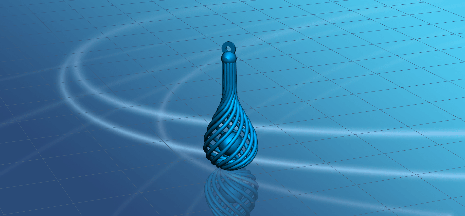 Necklace - Twisted Vase-03.png Download free STL file Necklaces - Twisted Vase • 3D print design, GeorgesNikkei