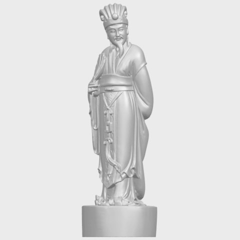 19_TDA0342_Zhu_Ge_Liang_Kong_MingA02.png Télécharger fichier STL gratuit Zhu Ge Liang Kong Ming Kong Ming • Modèle imprimable en 3D, GeorgesNikkei