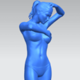 09.png Download free STL file Naked Girl D03 • 3D printing template, GeorgesNikkei