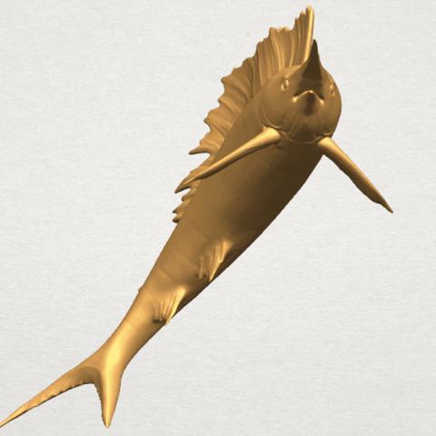 TDA0572 Swordfish 02 A03.png Télécharger fichier STL gratuit Espadon 02 • Objet pour impression 3D, GeorgesNikkei