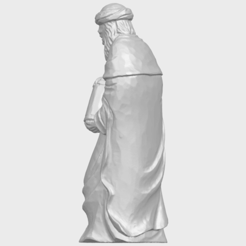 26_Sculpture_of_Arabian_88mm-A04.png Download free STL file Sculpture of Arabian • 3D print template, GeorgesNikkei