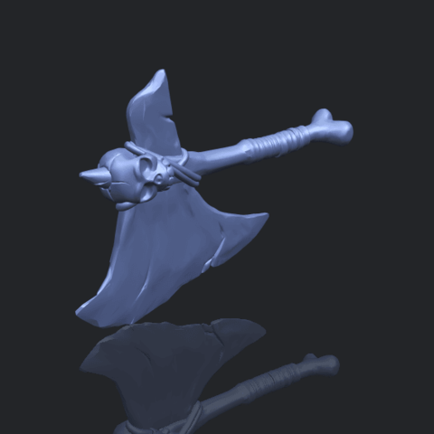 30_TDA0541_Pirate_AxeB00-1.png Download free STL file Pirate Axe • 3D printer template, GeorgesNikkei