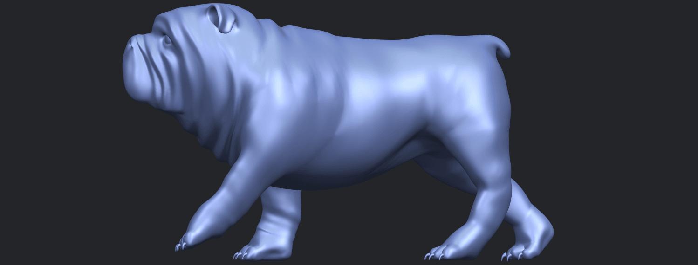 14_TDA0520_Bull_Dog_01B03.png Télécharger fichier STL gratuit Chien de taureau 01 • Plan pour impression 3D, GeorgesNikkei