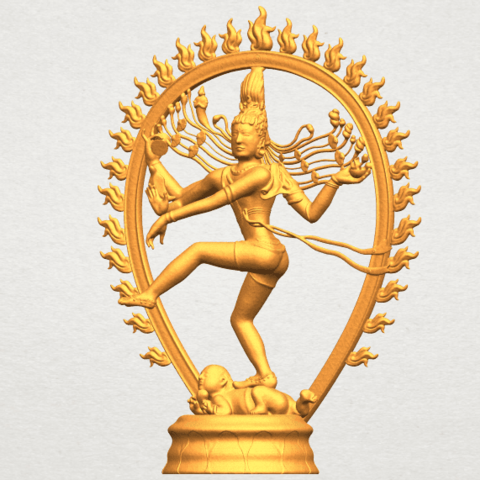 A02.png Download free STL file Shiva King • 3D printing template, GeorgesNikkei