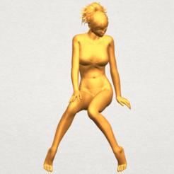 Naked Girl E02 3D printer file, Miketon