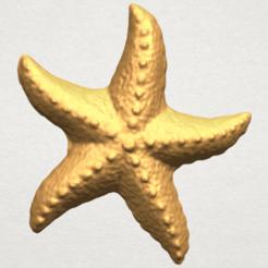 Descargar archivos STL gratis Estrella de mar 03, GeorgesNikkei