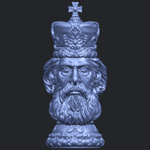 06_TDA0254_Chess-The_KingB01.png Download free STL file Chess-The King • 3D printer model, GeorgesNikkei