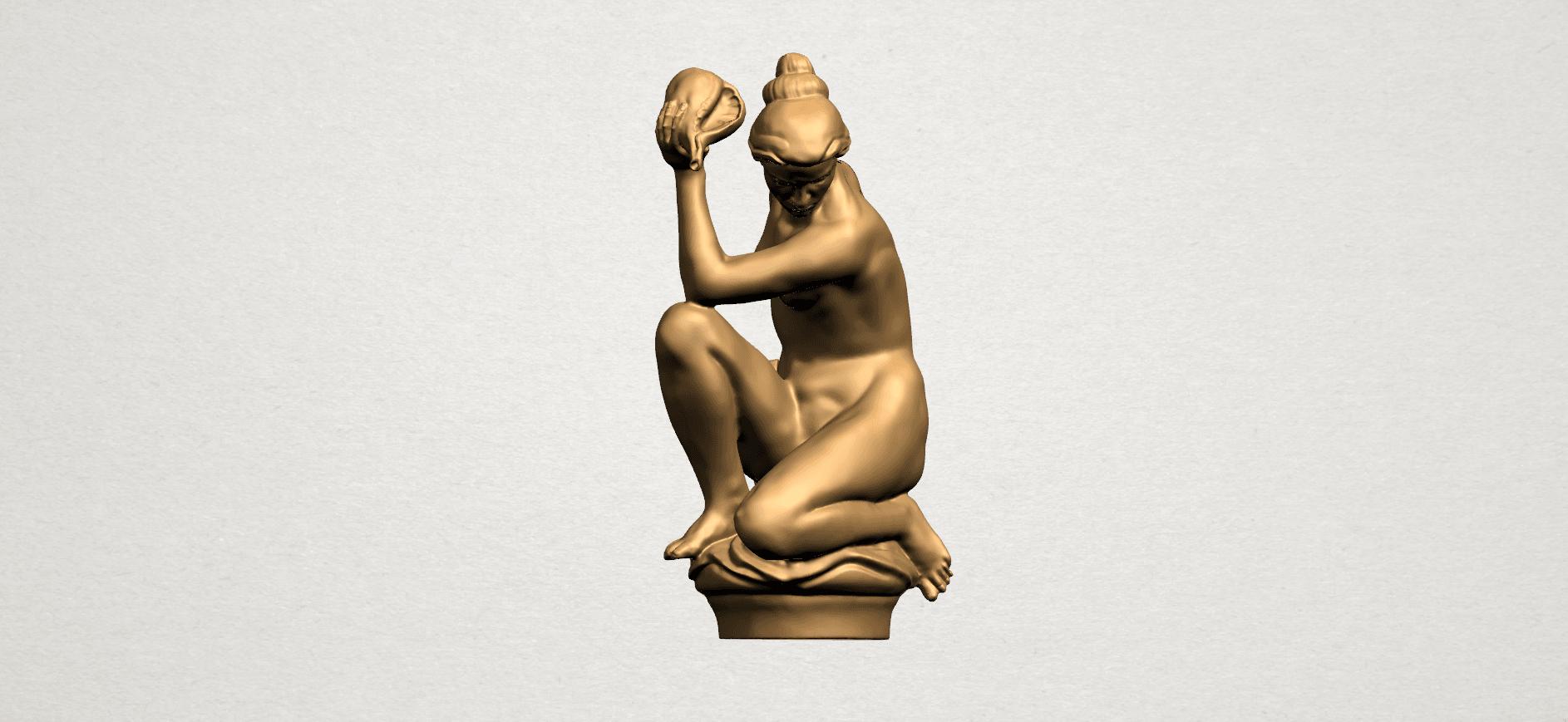 Naked Girl - With Pot - A03.png Télécharger fichier STL gratuit Fille Nue - Avec Pot • Modèle à imprimer en 3D, GeorgesNikkei
