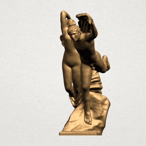 Cupid and Psyche - A11.png Download free STL file Cupid and Psyche • 3D printing template, GeorgesNikkei