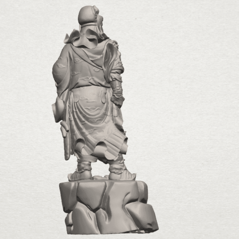 TDA0241 Guan Gong (ii) A06.png Download free STL file Guan Gong 02 • 3D printing template, GeorgesNikkei