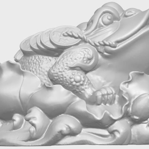 21_TDA0336_The_Golden_ToadA07.png Download free STL file The Golden Toad • 3D printer design, GeorgesNikkei
