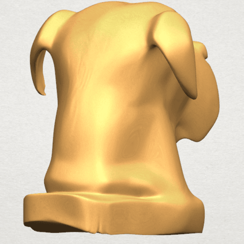 TDA0535 Dog Head A08.png Download free STL file Dog Head • Model to 3D print, GeorgesNikkei