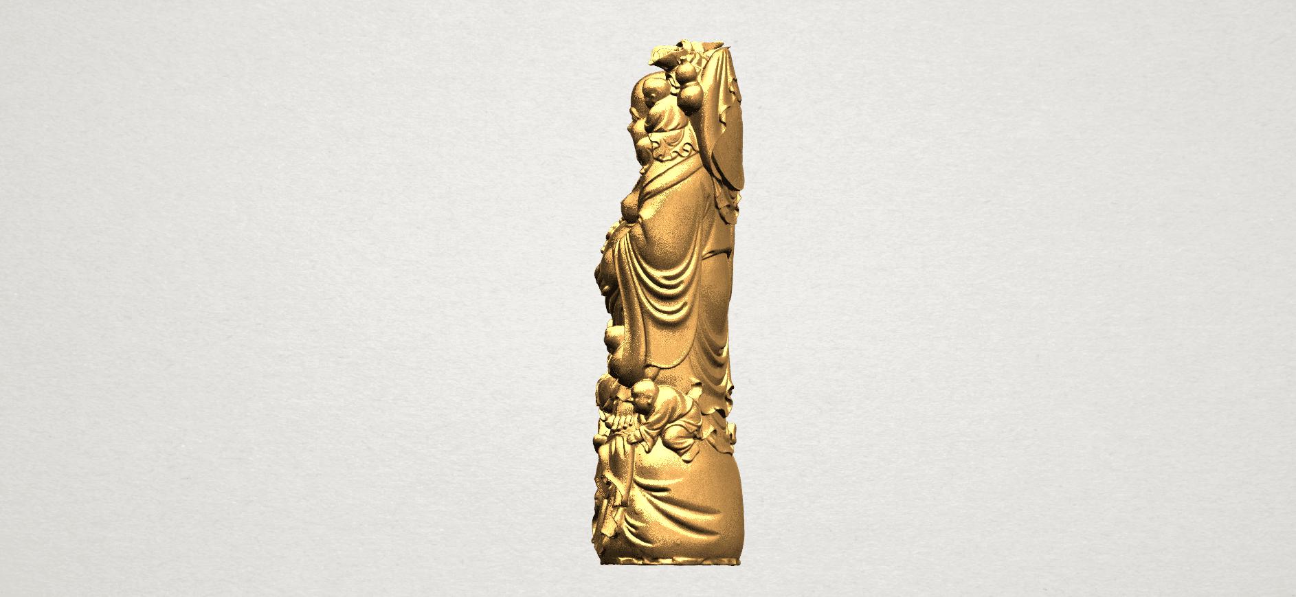 TDA0070 Metteyya Buddha 02 - 88mm - A03.png Download free STL file Metteyya Buddha 02 • 3D printer object, GeorgesNikkei