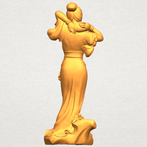 TDA0447 Fairy 02 A04.png Download free STL file Fairy 02 • 3D printing object, GeorgesNikkei