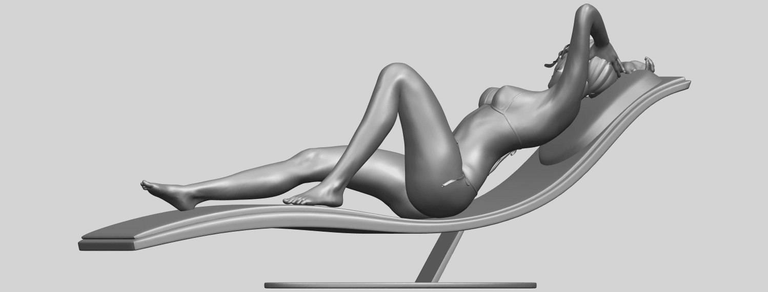 TDA0743_Sexy_Girl_13-Lye_on_ChairA06.png Download free STL file Sexy Girl 13 - Lye on Chair • 3D printer design, GeorgesNikkei