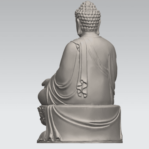 TDA0459 Gautama Buddha (iii) A04.png Download free STL file Gautama Buddha 03 • 3D printer template, GeorgesNikkei
