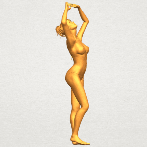 TDA0627 Naked Girl C03 A08.png Download free STL file Naked Girl C03 • 3D printer template, GeorgesNikkei