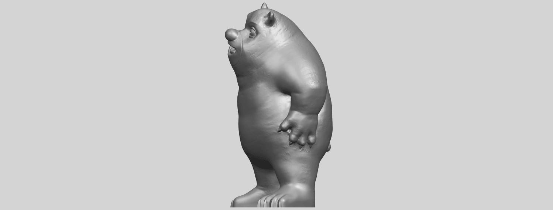 14_TDA0561_Bear_SeniorA03.png Télécharger fichier STL gratuit Bear Senior • Plan imprimable en 3D, GeorgesNikkei