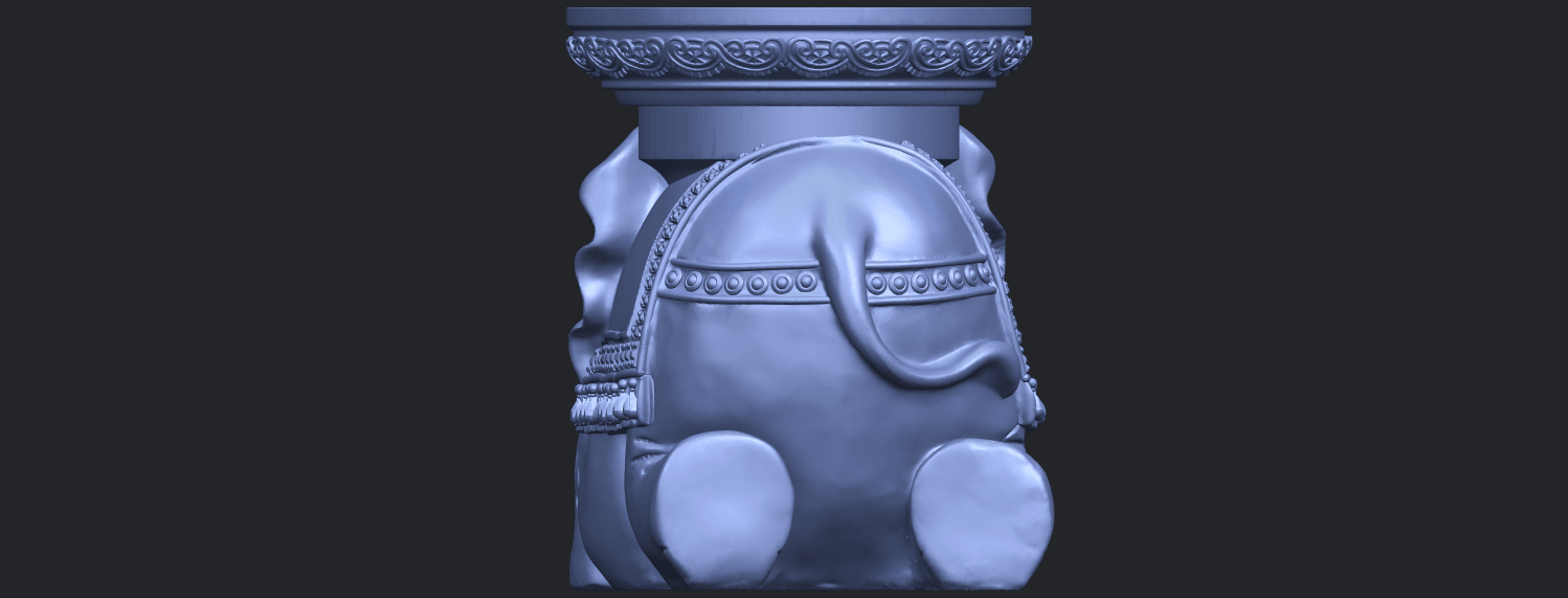 11_TDA0501_Elephant_TableB05.png Download free STL file Elephant Table • 3D printing object, GeorgesNikkei
