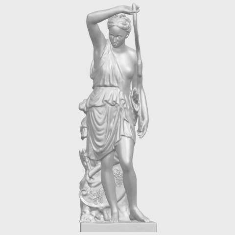 06_TDA0257_Female_WarriorA01.png Download free STL file Female Warrior • 3D print model, GeorgesNikkei