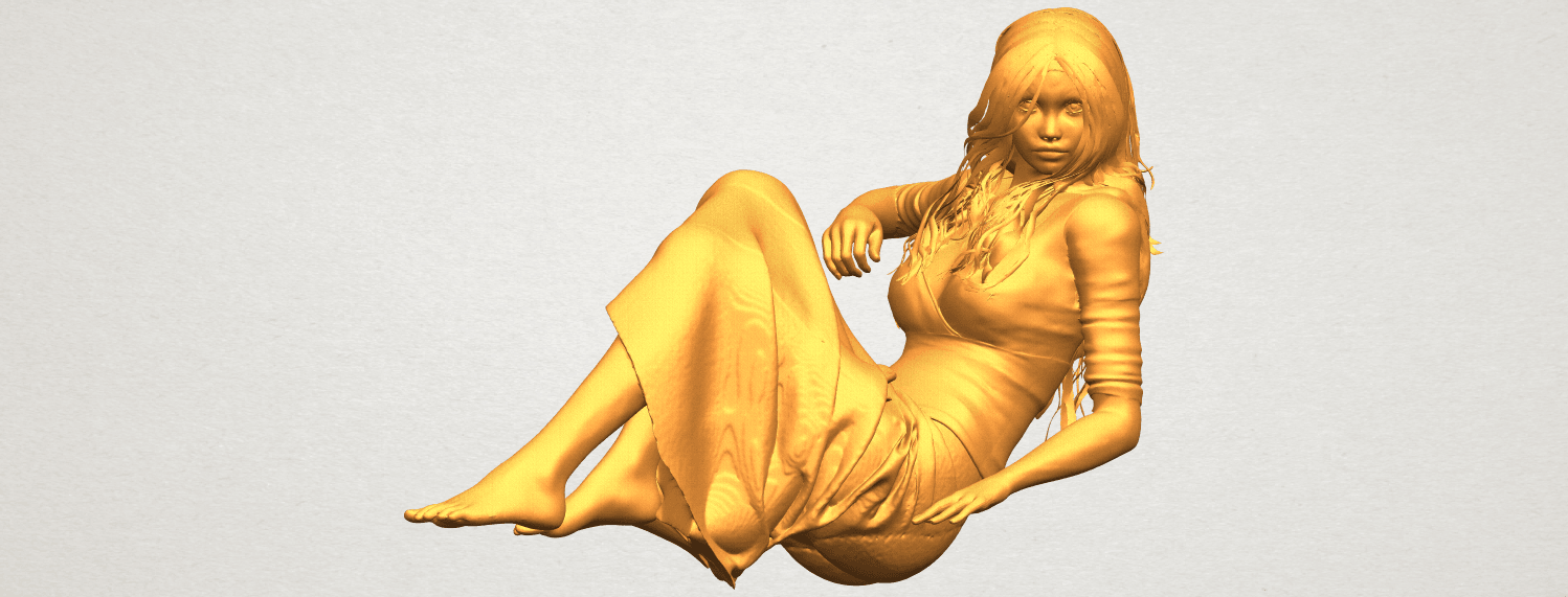 A01.png Download free STL file Naked Girl I03 • 3D printing object, GeorgesNikkei