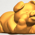 A08.png Download free STL file Pig 01 • 3D printing object, GeorgesNikkei