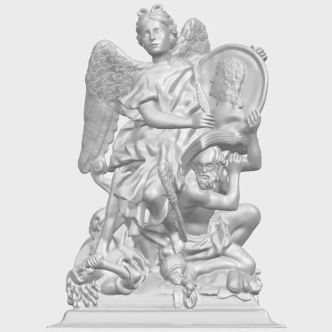 17_TDA0206_Angel_viA01.png Télécharger fichier STL gratuit Ange 06 • Modèle pour imprimante 3D, GeorgesNikkei