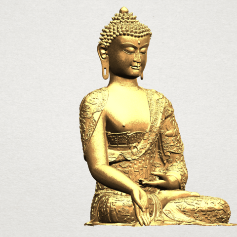 Thai Buddha(i) A08.png Download free STL file Thai Buddha (i) • Model to 3D print, GeorgesNikkei