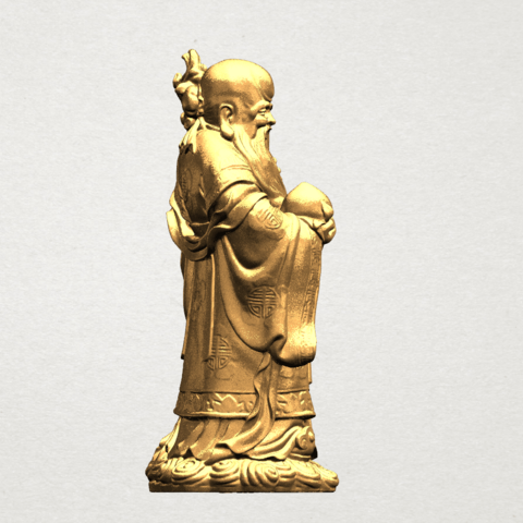 Sao (Fook Look Sao) 80mm - B05.png Download free STL file Sao (Fook Look Sao) • 3D printable model, GeorgesNikkei