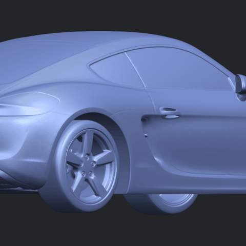 16_TDA0304_Porche_01_Length438mmB05.png Download free STL file Porche 01 • 3D printable object, GeorgesNikkei