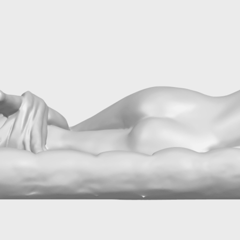 01_Naked_Body_Lying_on_Bed_ii_31mmA01.png Download free STL file Naked Girl - Lying on Bed 02 • Object to 3D print, GeorgesNikkei