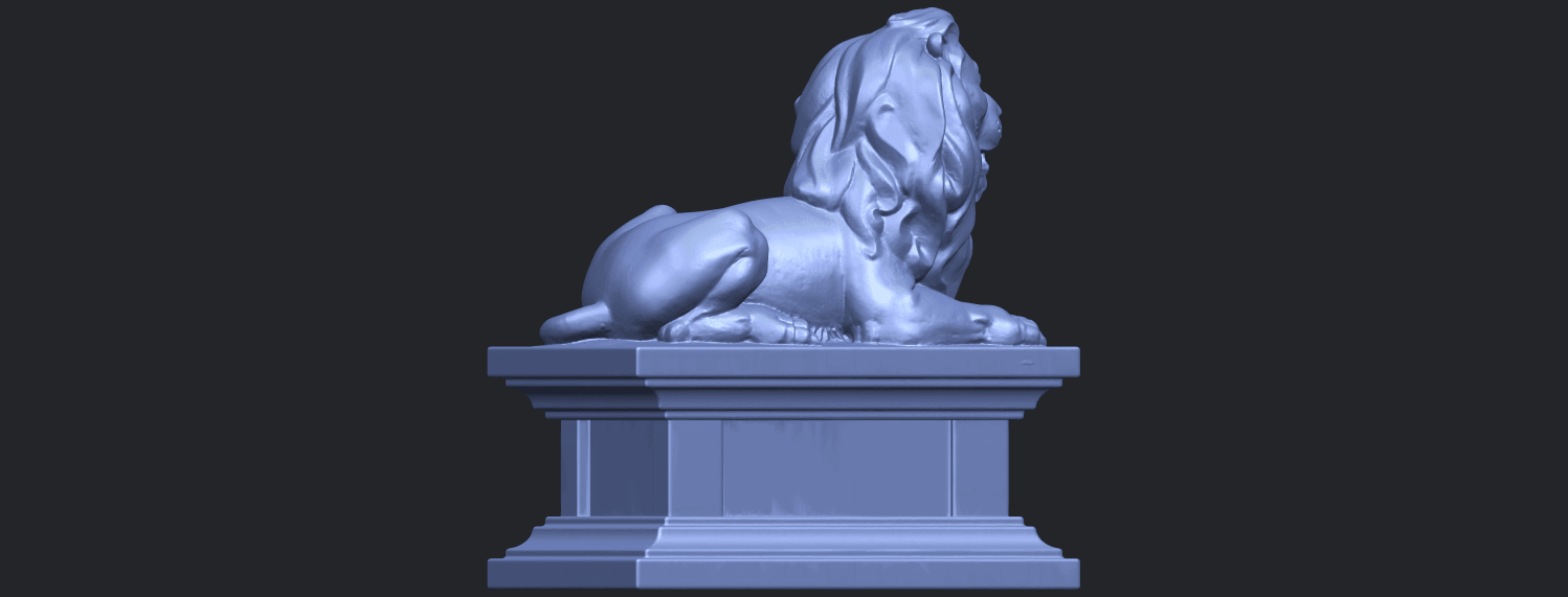 01_TDA0499_Lion_04B08.png Download free STL file Lion 04 • Template to 3D print, GeorgesNikkei