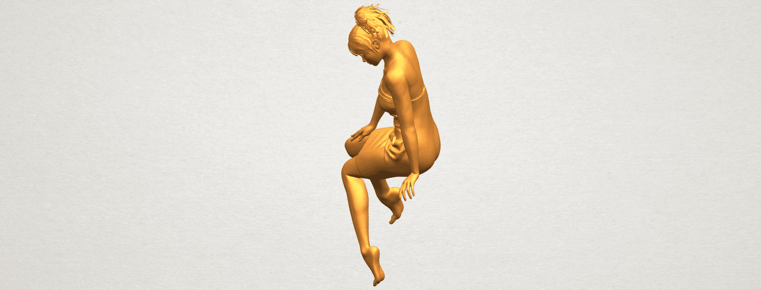 A03.png Download free STL file Naked Girl E07 • 3D printing object, GeorgesNikkei