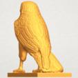 A03.png Télécharger fichier STL gratuit Aigle 04 • Design imprimable en 3D, GeorgesNikkei