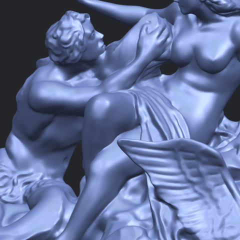 28_TDA0166_Naked_Couple_viA10.png Download free STL file  Naked Couple 06 • 3D printing object, GeorgesNikkei