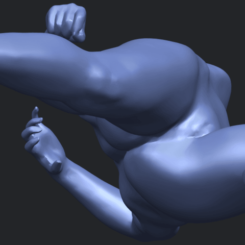 06_TDA0279_Naked_Girl_A06B01.png Download free STL file Naked Girl A06 • 3D printing template, GeorgesNikkei